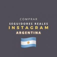 Comprar Seguidores Instagram Argentina Reales