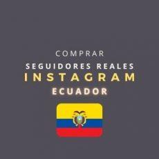 Comprar Seguidores Instagram Ecuador Reales