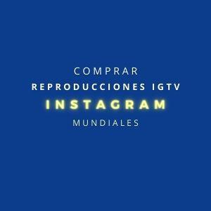 Comprar reproducciones IGTV Instagram